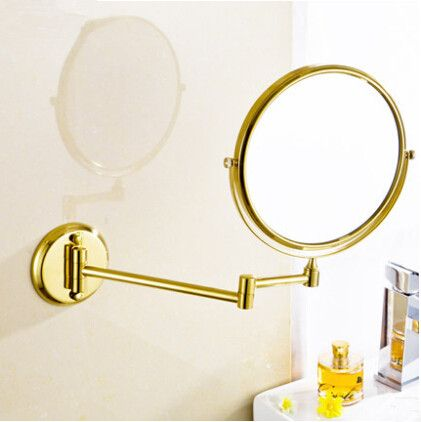 Cheap Retractable Mirror, Buy Quality Retractable Makeup Mirror Directly  From China Copper Bathroom Mirror Suppliers: Copper Folding Cosmetic Mirror  Fashion ...