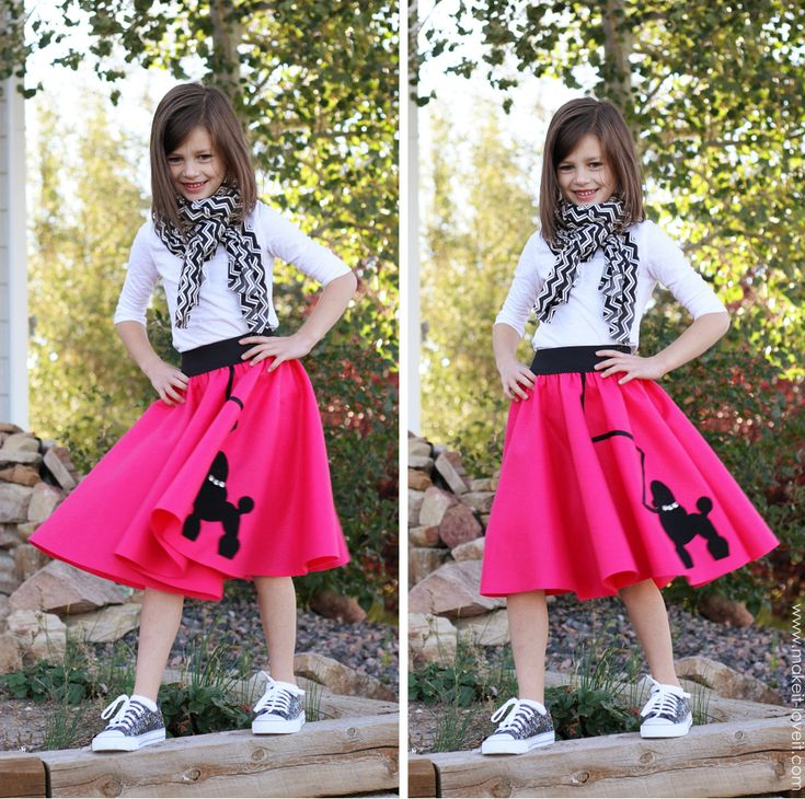 Very Low-Sew POODLE SKIRT