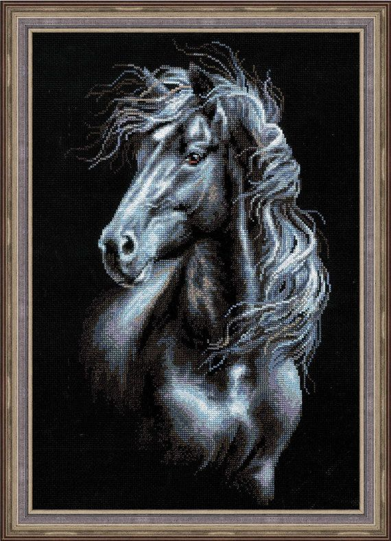 Cross Stitch Kit by Riolis Wind In The Mane by ArtfulStitchings