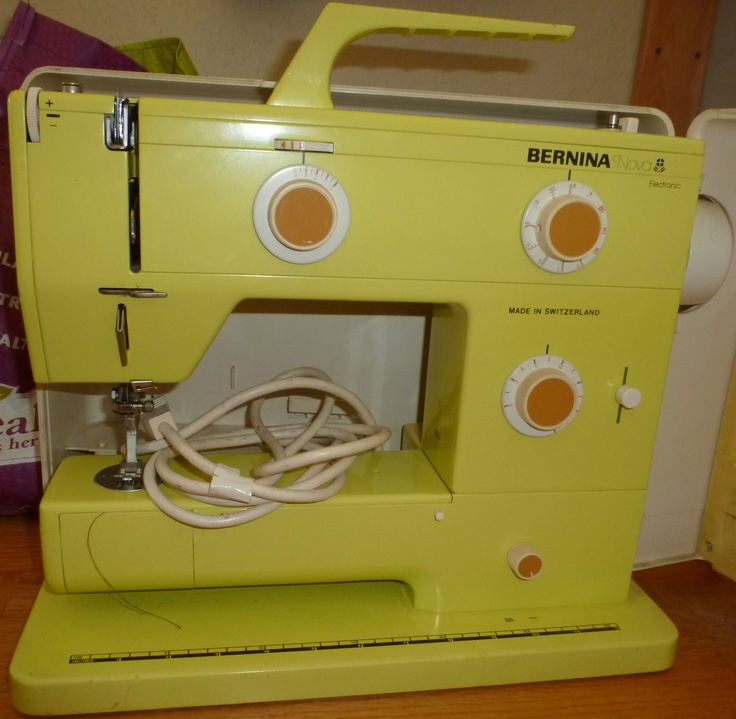 bernina nova 900 sewing machine yellow sewing and love this. Black Bedroom Furniture Sets. Home Design Ideas