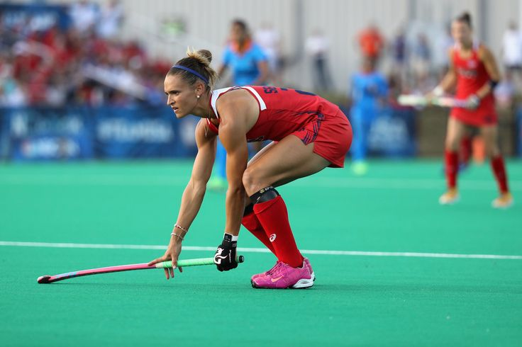 Paige Selenski #21 of Team USA looks on against Team India during a field hockey match in preparation for the upcoming Rio Olympics on July 18, 2016 in Manheim, Pennsylvania.