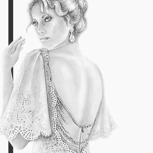 Ready, Set, Draw ! #inlove #fashionillustrator #illustration #illustartor #illustration-artist #illustrationart #fanart #fashion #style #wedding #dreamwedding #dress #dream #weddinggown #engaged #engagement #isaidyes #paint #מזלטוב #חתונה #שמלתכלה #אופנה #couture #voguetallents #vogue #vogueitaly
