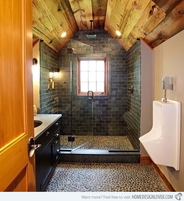 Every Man s Dream Structure  a Creative and Luxurious House Garage. 37 best Urinal images on Pinterest