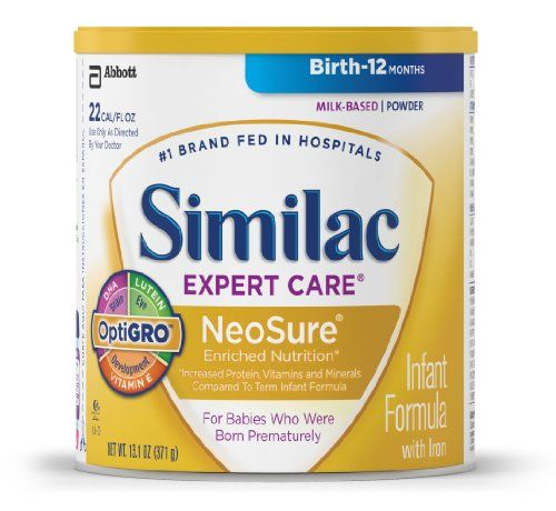 Similac NeoSure Infant Formula with Iron, Powder, 13.1 Ounces (Pack of 6)  http://www.babystoreshop.com/similac-neosure-infant-formula-with-iron-powder-13-1-ounces-pack-of-6/