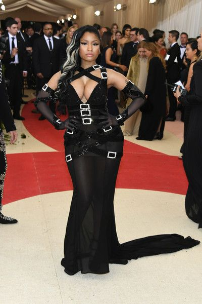 """Rapper Nicki Minaj attends the """"Manus x Machina: Fashion In An Age Of Technology"""" Costume Institute Gala at Metropolitan Museum of Art on May 2, 2016 in New York City."""