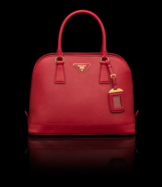 Red Prada tote bag | Pretty things to wear! | Pinterest | Totes ... - prada galleria bag red+white