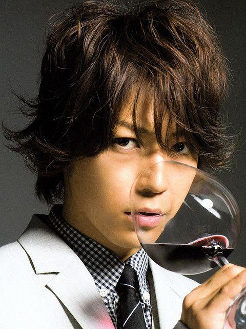 ワインが似合う良い男。
