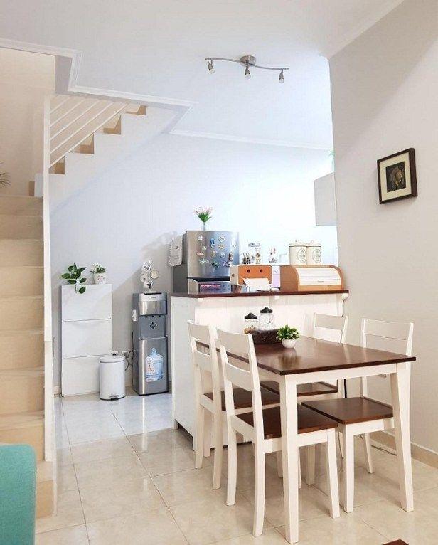 Kitchen Set Rumah: Desain Rumah Minimalis, Rumah Kecil Gati Rizky Yang