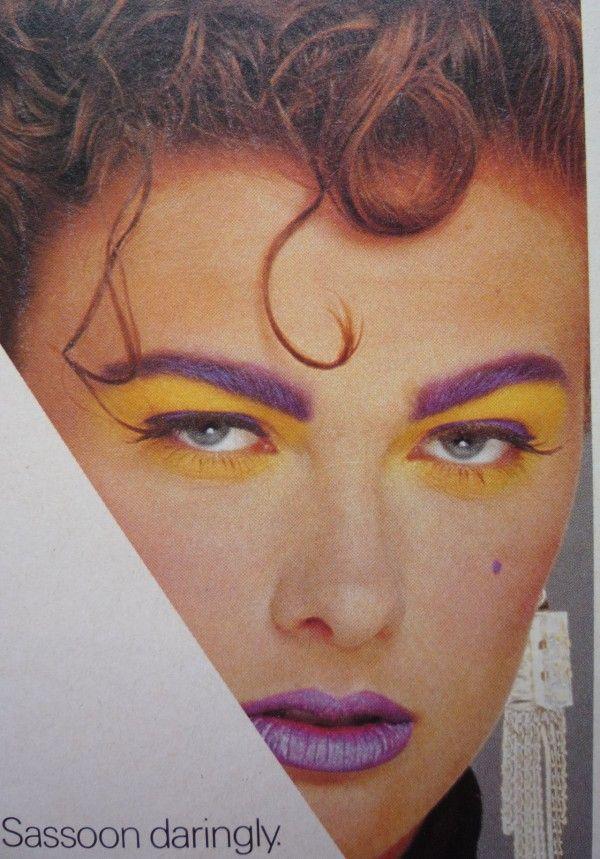 80's Makeup?? psh, Game Day Makeup!