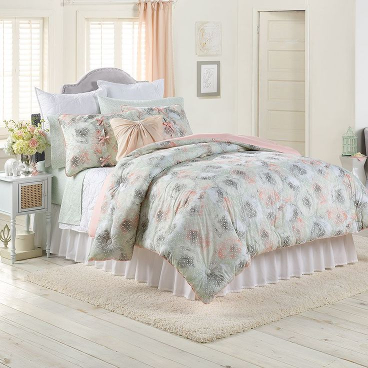 LC Lauren Conrad For Kohlu0027s Peony Dreams Bedding Set