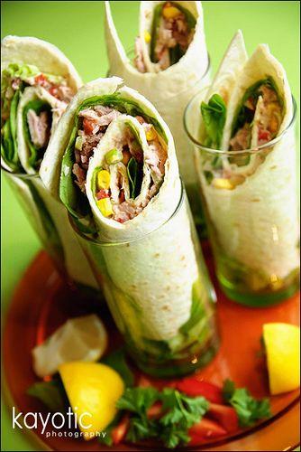 tuna salad wraps- Keep this recipe for tuna melts and wraps and tuna salads