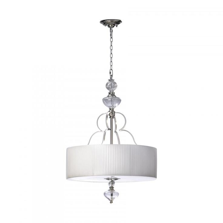 Cyan Design Ceiling Lights Perth Pendant In Chrome 4452