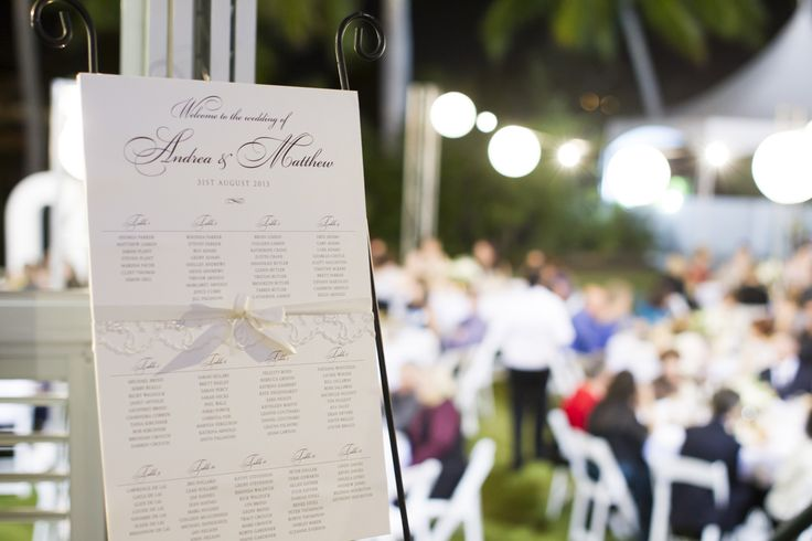 Outdoor Wedding Reception - Mercure Townsville - Lakeside Lawn - Stunning Details - Photo Credit: Stephen Lane Photography