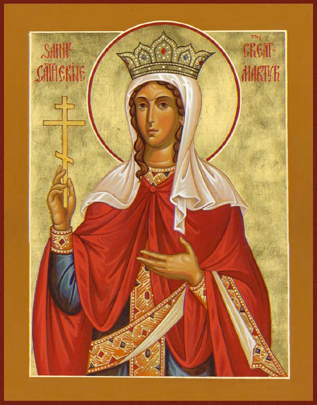 St Catherine of Alexandria, the Great Martyr