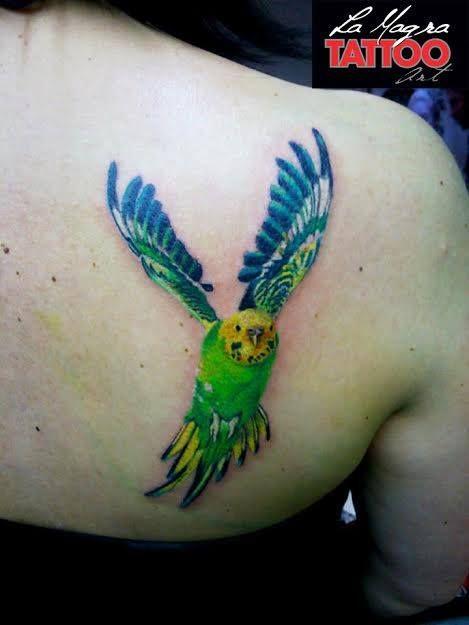 #parrot #tattoo #lamagratattoo