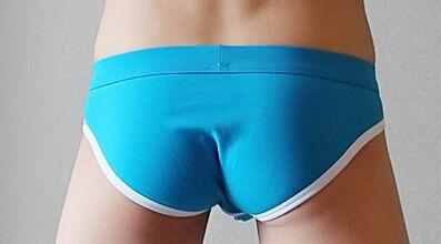 Free shipping! 2015 Fashion Short Triangle mesh underwear men's modal Briefs Sexy Men Underwear Shorts