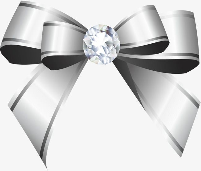 Hand Drawn Silver Ribbon Bow Png And Clipart Ribbon Bows How To Draw Hands Ribbon Png