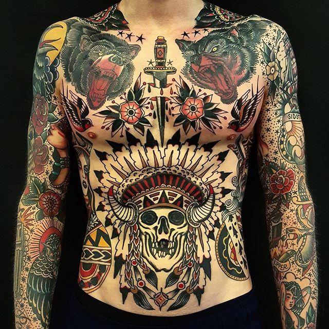 My favorite from 2016. Happy new years ✌️ #traditionaltattoo #oldschooltattoo #tattoos #copenhagen