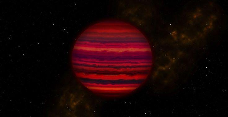 Astronomie. Avec l'étude de la lumière de la naine brune la plus froide connue – à ce jour, pour la première fois, des astronomes ont pu trouver la preuve de nuages formés d'eau sur un corps …