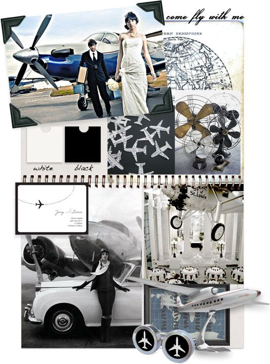 come fly with me from i do it yourself Smart black and white travel themed destination wedding ideas