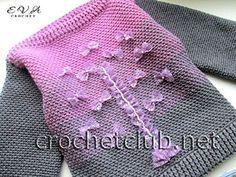 свитер с эффектом деграде