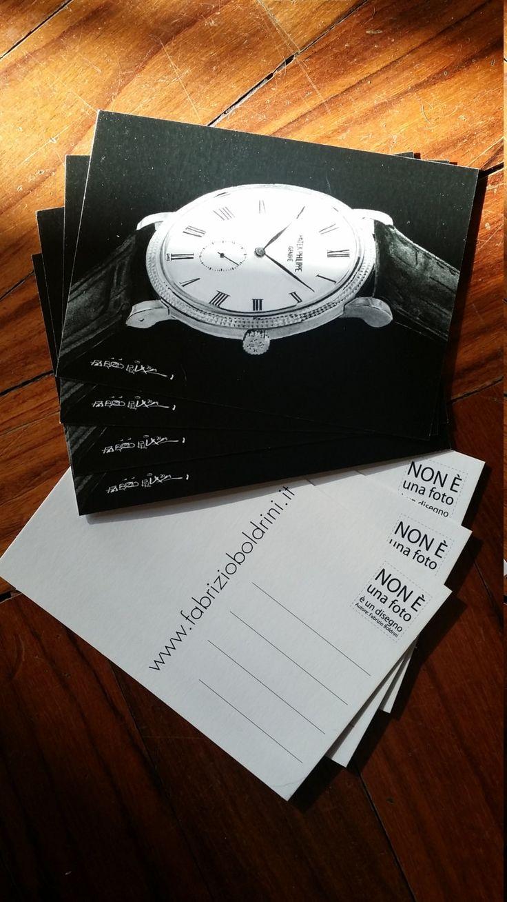 Patek  Philippe Calatrava cartolina di fabrizioboldrini su Etsy