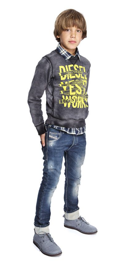 Diesel Teen Boys Fashion Attire. Great casual cool style.