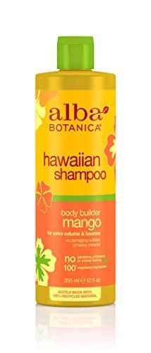 Alba Botanica Moisturizing Hair Wash Mango 12 oz ** You can find more details by visiting the image link.