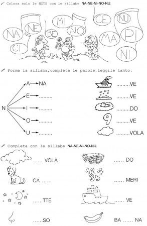 N Di Nano Classe Prima 2 Learn Italian Pinterest Italian