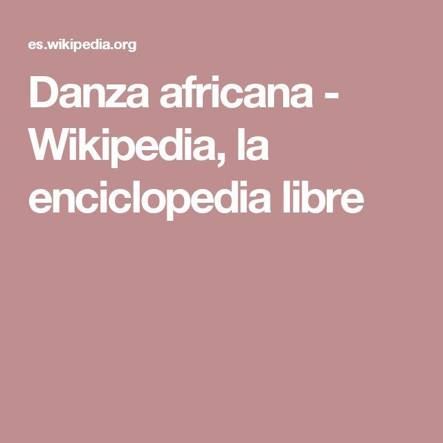 PREHISTORIA Danza africana