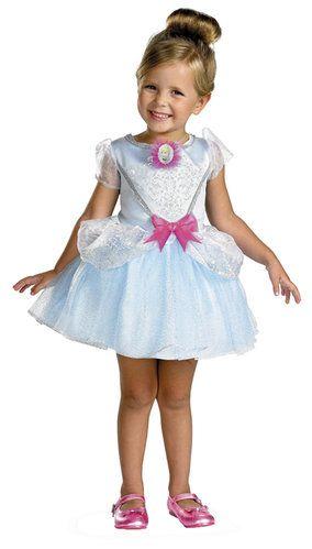 Disney Cinderella Toddler Ballerina Costume - she's a cutie!