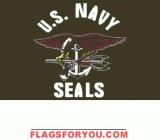 Navy Seals Flag 3x5