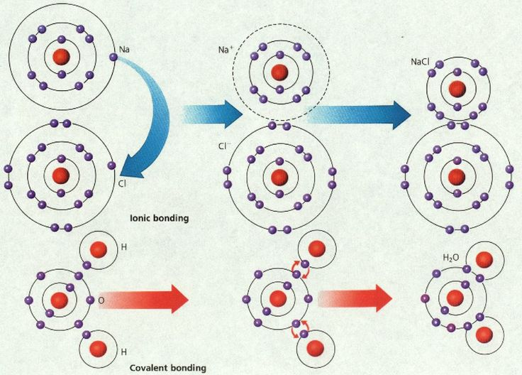 hydrogen bonds covalent ionic chart pictures to pin on