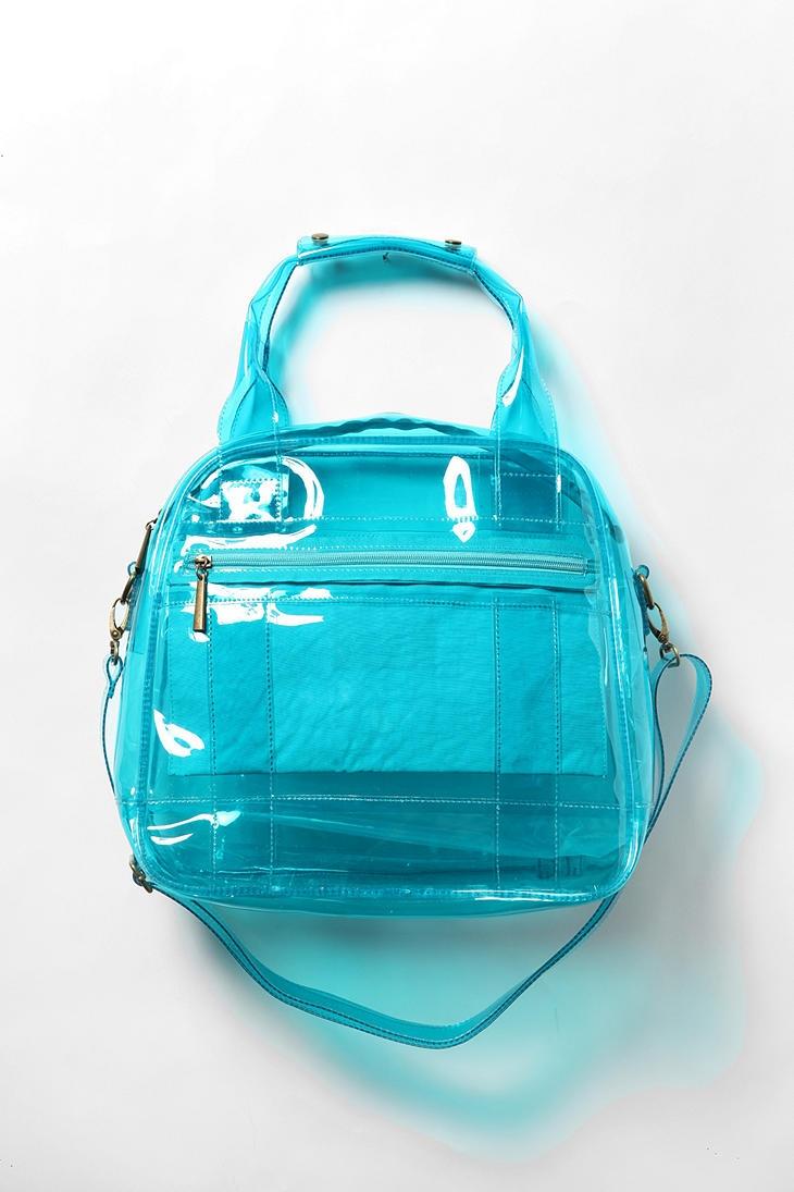 Deena & Ozzy transparent purse