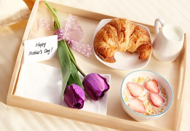 desayuno para mamá :)