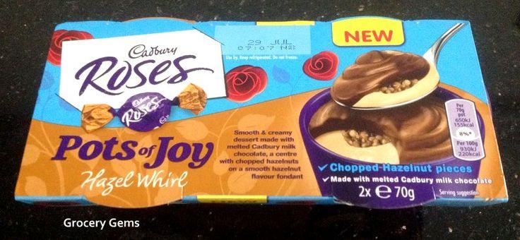 Grocery Gems: New Cadbury Roses Pots of Joy Hazel Whirl