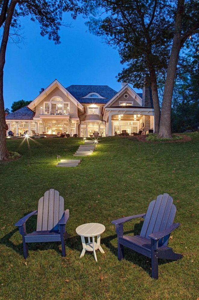 Lake House. Dream lake house. Lake house with coastal interiors #lakeHouse #coastal