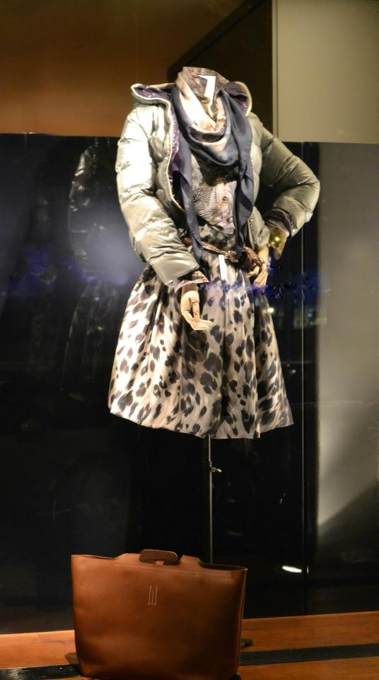 Pauw Collection Autumn Winter #pauw #fashion #puffercoat #skirt