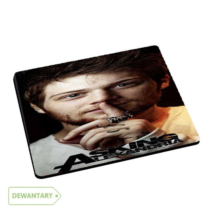 Danny Worsnop Asking Alexandria Vocal Mousepad Mouse Pads Dewantary