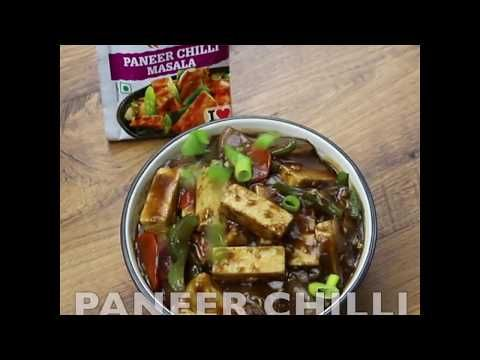 How To Make Paneer Chilli   पनीर चिल्ली   Hebbars Kitchen ...