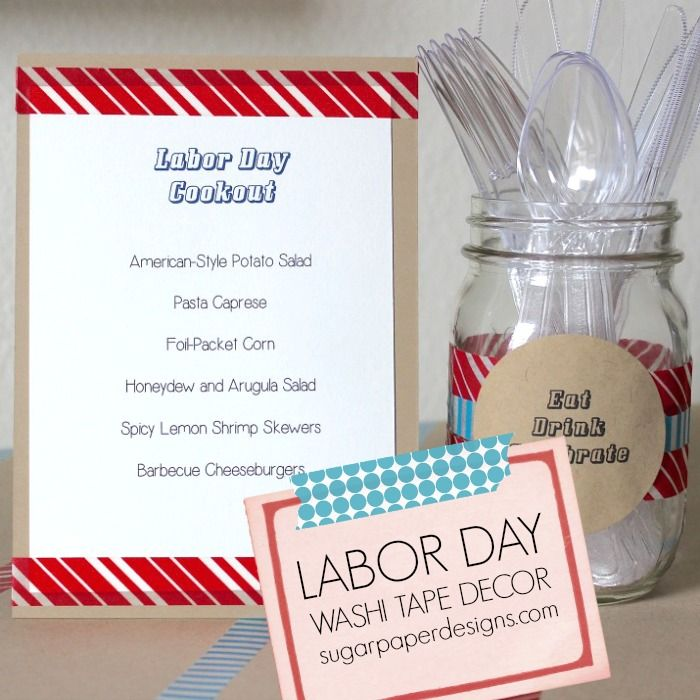 17 Best Ideas About Labor Day Decorations On Pinterest