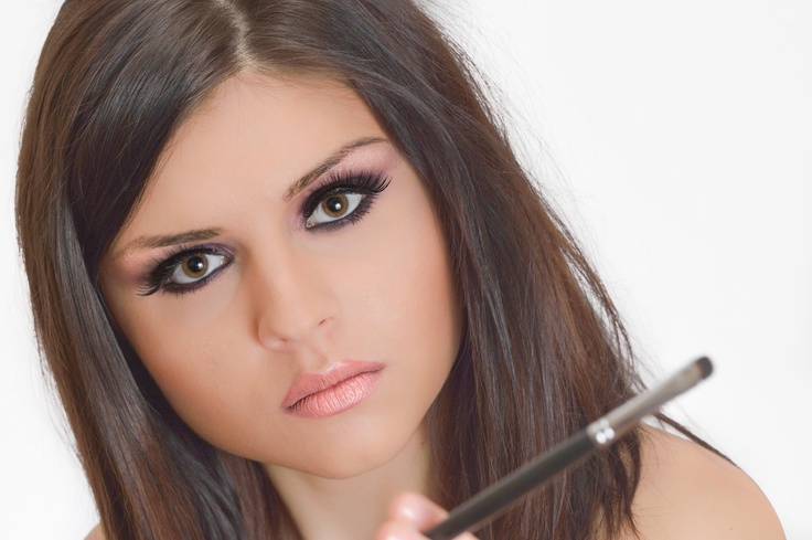 beauty, professional makeup, make-up touch academy, eye, brushes, girl