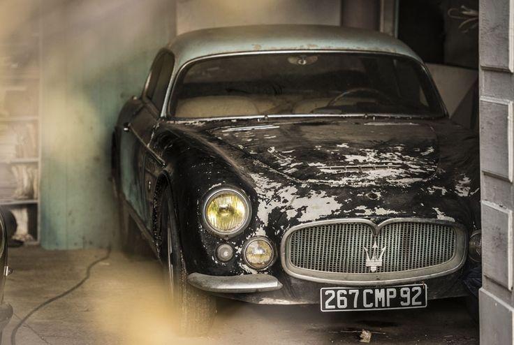 Maserati - 1956 Maserati A6G Gran Sport Frua.  © Collection Baillon,