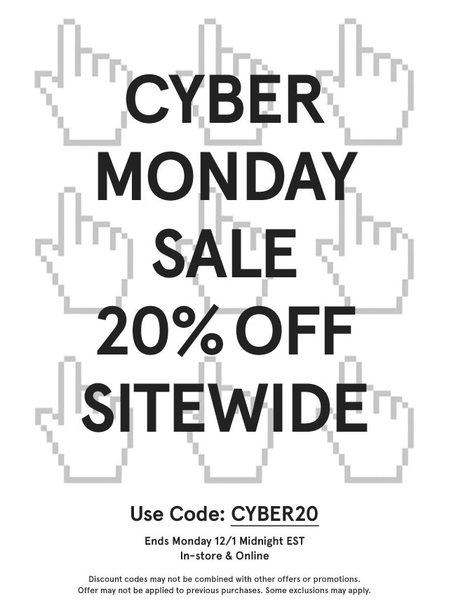 Need Supply Co. CYBER MONDAY SALE 20% OFF SITEWIDE