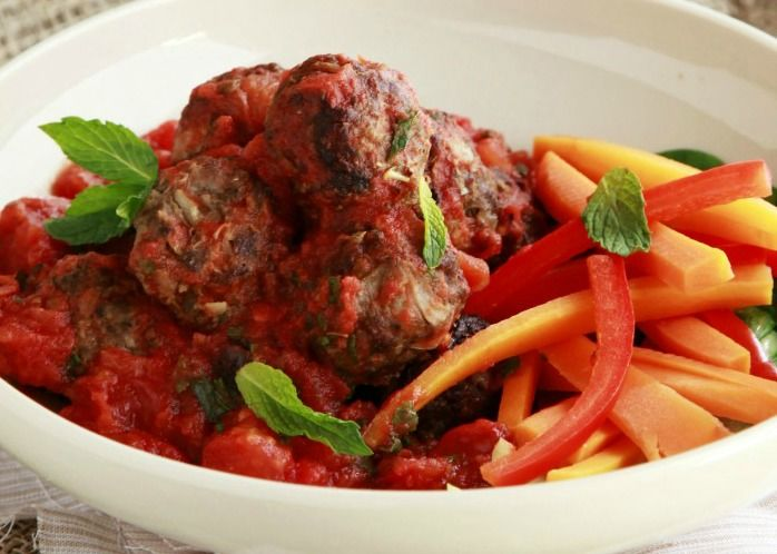 At The Healthy Mummy we are all about a balanced, healthy food like these delicious and nutritious Healthy Lamb Feta Meatballs