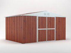 Garden Shed 4.03m x 2.69m x 2.17m Wood Finish