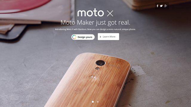 Depois de tanta espera do público, acapa de madeira do Moto Xfinalmente tem seu lançamento. Mas prepare-se para pagar caro por uma dessas: o modelo feito em bambu – o único disponibilizado pela Motorola até o momento – adiciona nada menos que 100 dólares (230 reais, aproximadamente) ao valor final