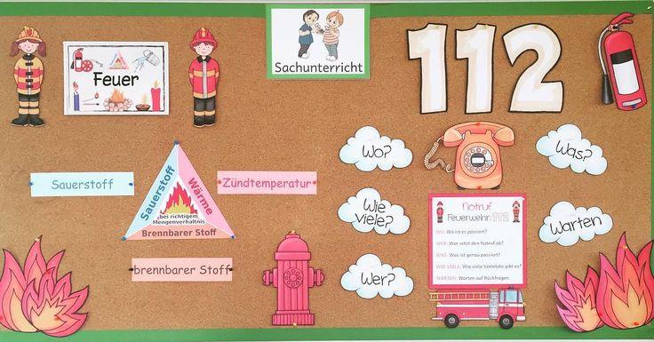 Thema Feuer #Materialwiese #Grundschule