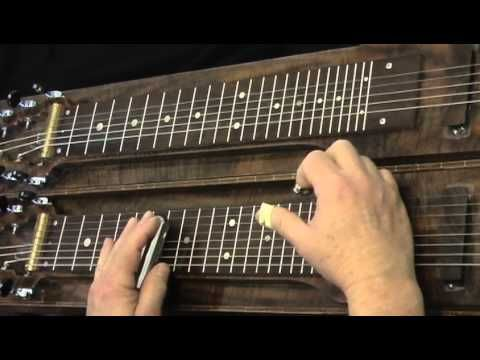 Lap Steel Guitar Lesson, Pedal Steel Sounds with C6th Tuning - YouTube