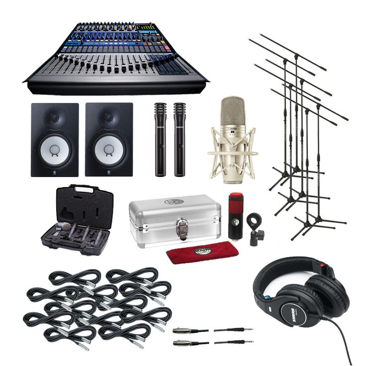Home recording studio equipment packages